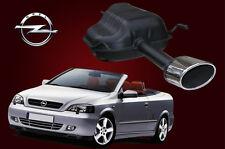 Auspuff hinten / Opel Astra G Coupe , Cabriolet 1.6 & 1.8 16V Bertone Endtopf