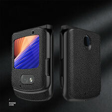 For Motorola Razr 5G Shockproof Fashion Leather Case Cover Shell Accessories