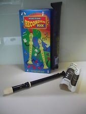 Hornby Recorder C Descant 220H with Instruction Book & How To Play