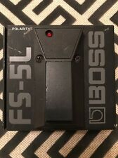 BOSS FS-5L Latching Footswitch Pedal - Guitars, Keyboards, & More FREE SHIPPING