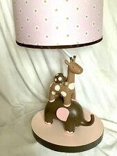Lambs & Ivy ~ Emma Collection Pink Brown Girls Nursery Decor