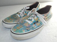Vans Nintendo Mario Bros. Game Over Lace up Skate Shoes Men Size 6 Women Size7.5