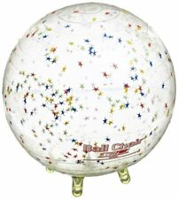 Gymnic Sit'N'Gym Therapy Ball with Built in Legs, 13-1/2 Inches, Clear with Star