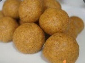 Donkwa (Tanfiri) Nigerian Peanut& Cornmeal GLUTEN&DAIRY Free Keto snack 8pcs