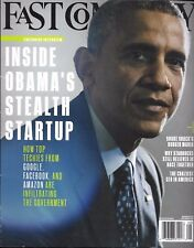 FAST COMPANY NO.197 JULY-AUGUST 2015 INSIDE OBAMA'S STEALTH STARTUP/ CEO LIGHT