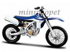 MAISTO 20-13021 YAMAHA YZ-450F DIRT BIKE MOTORCYCLE 1/12 BLUE WHITE