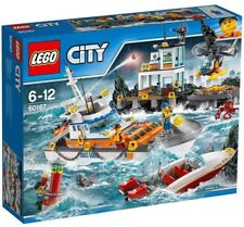 LEGO City Coast Guard Head Quarters - Model 60167(6-12 Years)
