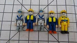 Rokenbok Lot of 5 Figures Workers People  Rockenbock