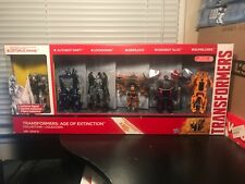 TRANSFORMERS AGE OF EXTINCTION 6 FIGURES COLLECTION
