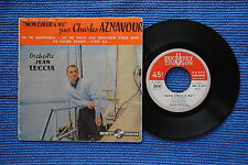 CHARLES AZNAVOUR / EP (1) DUCRETET-THOMSON 460 V 424 / BIEM 09-1958 ( F )