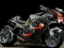 "13"" x 19"" Poster Hayabusa Custom Bike Predator with Skeleton"