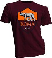 A.S. Roma i Giallorossi Italy Italia Serie A Football Soccer T-Shirt Team Sports