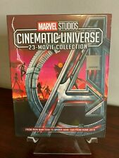 ALL AVENGERS MOVIES 23 MARVEL CINEMATIC UNIVERSE MOVIE COLLECTION 8 BLU-RAY DVD
