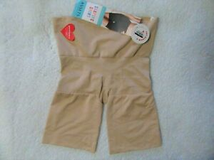 Spanx Assets Women's Shaping Shorts Light Beige -M New With Tags