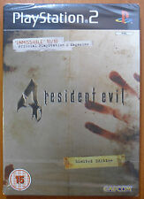 Resident Evil 4 Edición limitada Sony PlayStation 2 PS2 PAL lata libro