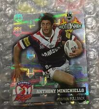 Nrl Rugby League 2006 Hot Shot Silver Tazo 19 Anthony Minchello Tazos Cards