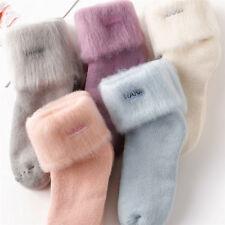 5Pairs/Lot, Fuzzy, Velvet, Carpet Socks & Footwear, Multi-Color