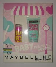Maybelline Baby fuori fa freddo GIFT SET BABY labbra e Baby Pelle dei pori eraser