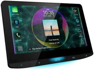 "JVC KWZ1000W 10.1"" Floating Apple CarPlay & Android Auto Digital Media Receiver"
