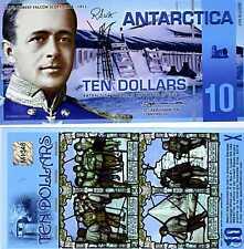 Antarctica, $10, Polymer, 29-3-2009, NEW, UNC --> Scott