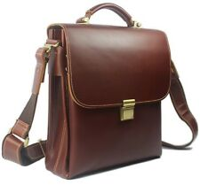 High Class Men Italian Real Leather Shoulder Bag Messenger Briefcase /i PAD case