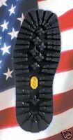 VIBRAM 148 Kletterlift Unit Rubber Full Sole 1 PAIR - Shoe Repair