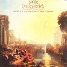 SPOHR Double Quartets UK Press Hypérion CD 1986