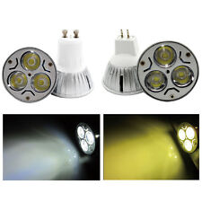 MR16 GU10 CREE LED Spotlights 3W Bulb Cool Warm White Light DC12V AC85-265V Lamp