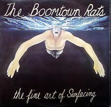 BOOMTOWN RATS The Fine Art Of Surfacing LP Lyric Inner Ensign ENROX 11 Excellent