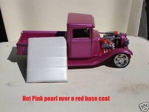 25g Hot Pink Pearl Pigment Powder Custom Paint Nail Art Airbrushing H O K