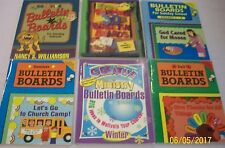 Creative Ministry Bulletin Boards Bible Youth Church Sunday School Book Lot