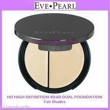 NEW Eve Pearl HD HIGH DEFINITION 40:60 DUAL FOUNDATION-Fair Shades FREE SHIPPING