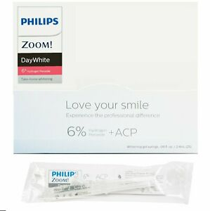 Philips Zoom!DayWhite 6% Hydrogen Peroxide Whitening Gel pack of 3 EXP 11/2021