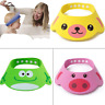 Cute Soft Baby Kids Cartoon Shampoo Bath Bathing Shower Cap Hat Wash Hair Shield