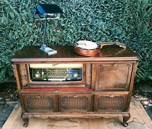 Telefunken Opus 7 Radio Mit Schrank