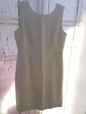Womens Talbots Light Lime Green NWT Sz 12 Silk/Rayon/Wool shift Dress