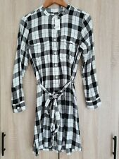 Ladies Black & White Check Tunic/ Dress Size Small From Gap BNWT RRP £44.99