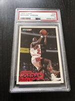1993 Fleer Michael Jordan #28 PSA Mint 9