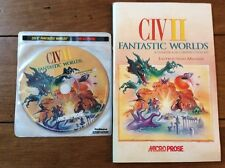 Civilization II Fantastic Worlds PC With Manual Perfect Condition