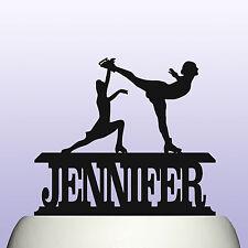 Acrílico patinaje sobre hielo Patinaje artístico Personalizado Cumpleaños Pastel Topper & Recuerdo