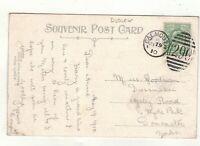 EDW.VII. 1910..FALMOUTH.  DUPLEX POSTMARK.PLEASE SEE PICTURE