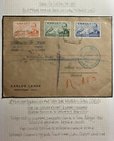 1939 Valladolid Spain Commercial Censored Cover To Sutton Coldfield England