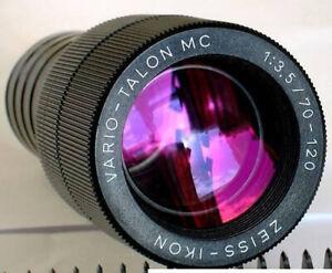 Projektionsobjektiv Zeiss Ikon Vario Talon 3,5/70-120 MC für Diaprojektor OVP!!!
