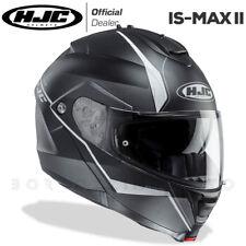 CASCO MODULARE APRIBILE MOTO HJC IS-MAX 2 II MINE MC5SF NERO/GRIGIO/BIANCO OPACO