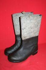 Original NVA Thermostiefel Filzstiefel Winter Leder Stiefel Gr. 42 DDR 28 Nr. 10