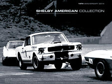 SAC 18th Anniversary 2014 Shelby GT-350R SCCA B-Production ClassEvent Car Poster