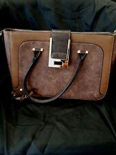 PRELOVED Bessie London Brown Tote Handbag