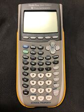 Texas Instruments Ti-84 Plus Silver Edition Graphing Calculator Yellow