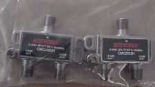 2 Way Splitter 5-1000MHz Antronix 2 Pack
