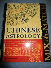 Chinese Astrology Richard Craze HC Book 1999 Flip Guide VGC US 1st Edition